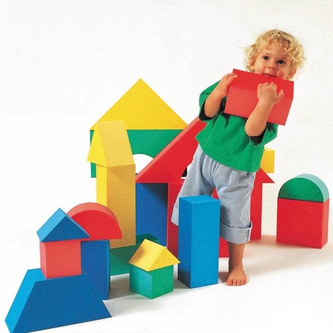 32 Giant Soft Building Blocks