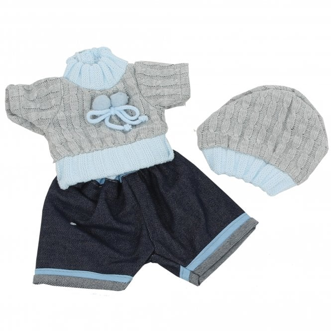 34cm Boys Doll Outfit Set