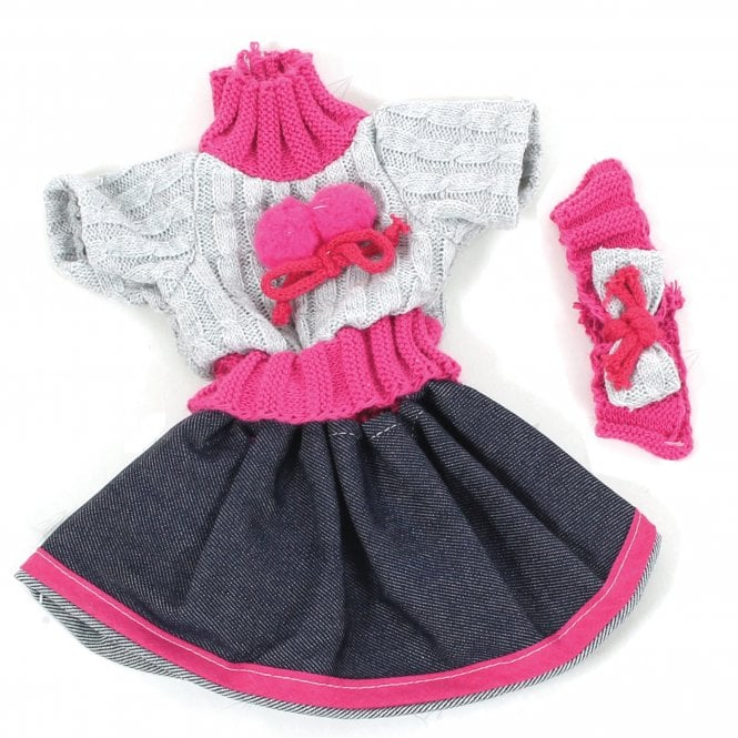 34cm Girls Doll Outfit Set