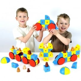 3D Magentic Blocks Super Class Set