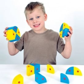 3D Magnetic Blocks - Spheres and Cylinders