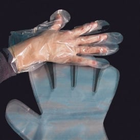 500 Clear Disposable Gloves