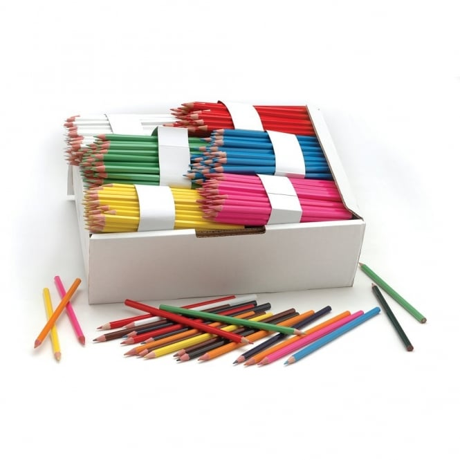 500 Moneysaver Coloured Pencils