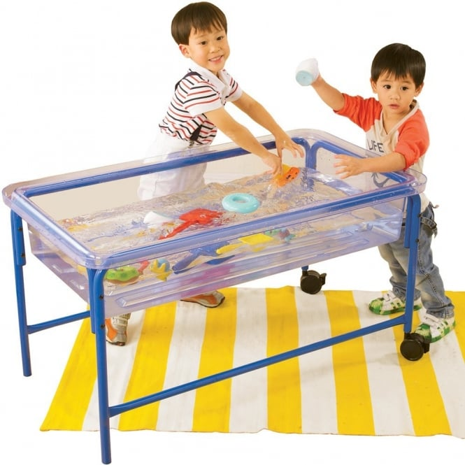 water play table 58cm clear water play table sand amp water from early 28933