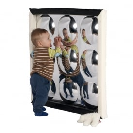 9 Bubble Convex Sensory Mirror with Soft Frame