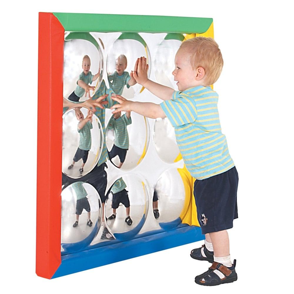 9 bubble convex sensory mirror with soft frame furniture from 9 bubble convex sensory mirror with soft frame jeuxipadfo Images