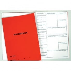 A4 Accident Book (Red)