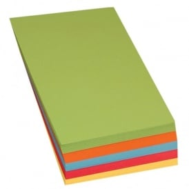 A4 Brite Coloured Card (100) 5 Col