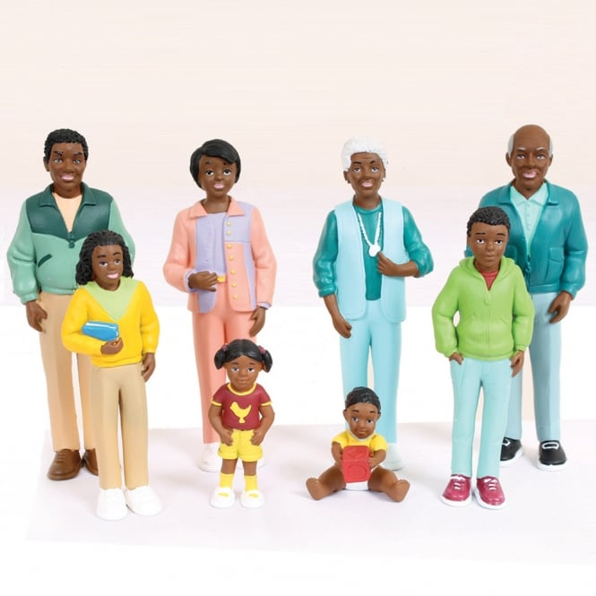 African Family Figures