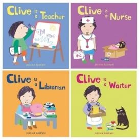 All About Clive - Clives Jobs Book Pack