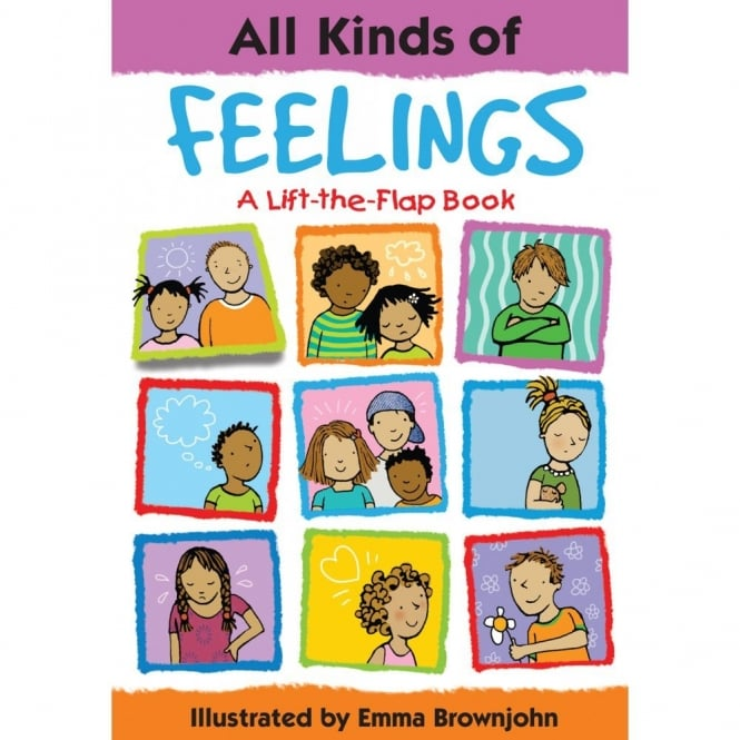 All Kinds Of Feelings Book (Lift The Flap Book)