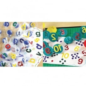 Alphabet And Numbers Stamps Special Offer
