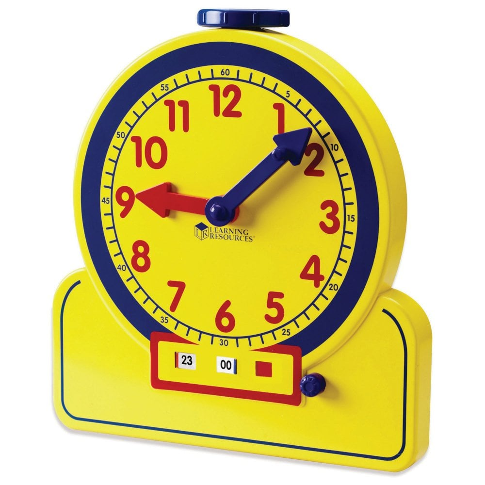 Analogue And Digital Teaching Clock