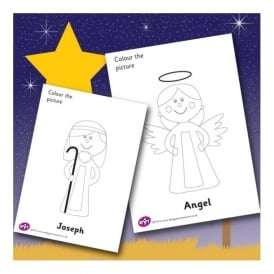Angel Colouring Sheet