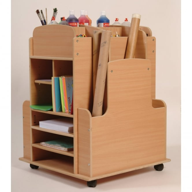 Art Storage Trolley Furniture From Early Years Resources Uk