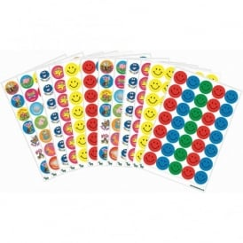 Assorted Bright Coloured Stickers Pack (BRK)