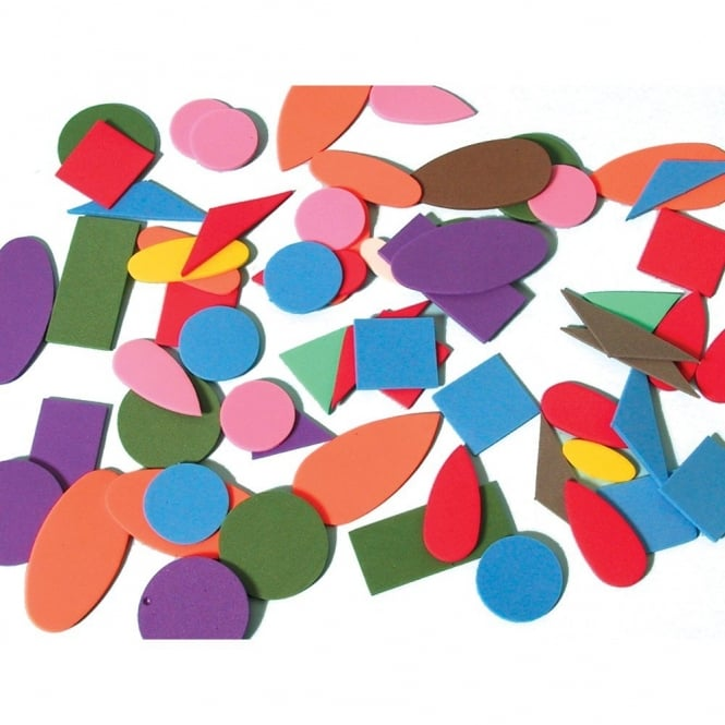 assorted eva craft foam shapes art craft from early years