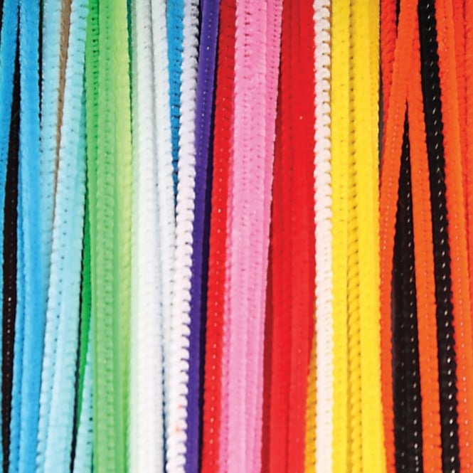 Assorted Pipe Cleaners 15cm or 30cm