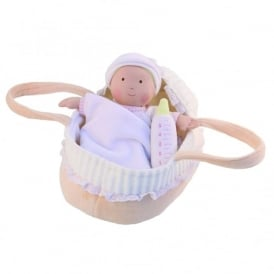 Baby Doll In Basket