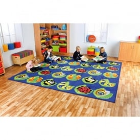 Back to Nature Square Bug Placement Carpet - 3m x 3m