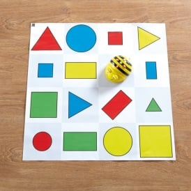 Bee Bot Shape Colour and Size Mat