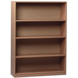 Beech Bookcase With 2 Adjustable Shelves