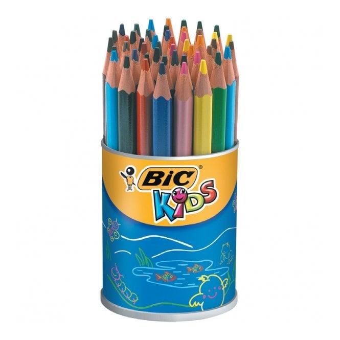 Bic Kids Triangle Colouring Pencils