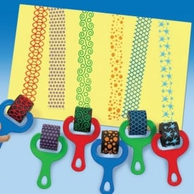 Paint Stampers Sponge Stampers Shape Stampers Early Years Resources