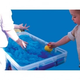Blue Messy Play Goo