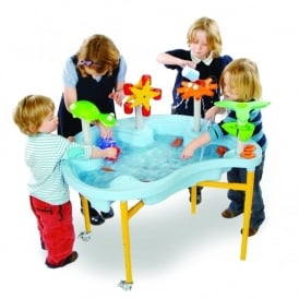 Blue Sea Weenies Sand & Water Tray