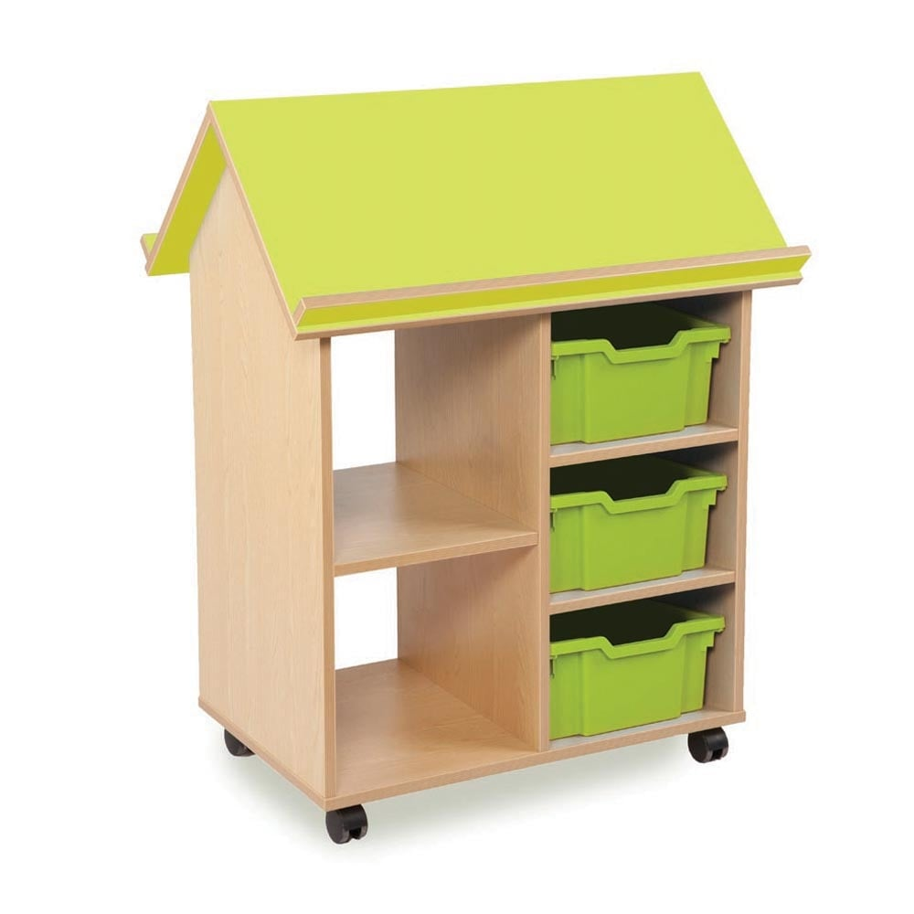Book House Storage Unit With 3 Deep Trays  sc 1 st  Early Years Resources & Book House Storage Unit With 3 Deep Trays - Furniture from Early ...