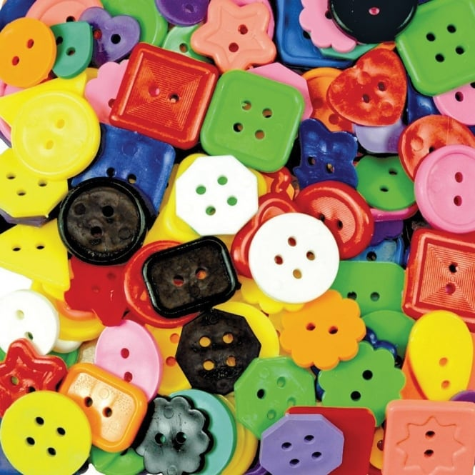 Bright Craft Buttons