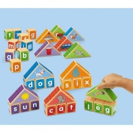 Build A Word Houses