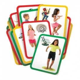 Busy Bodies Gross Motor Exercise Cards