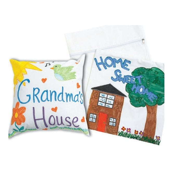 Canvas Pillow Cases - Design A Cushion - Set Of 12
