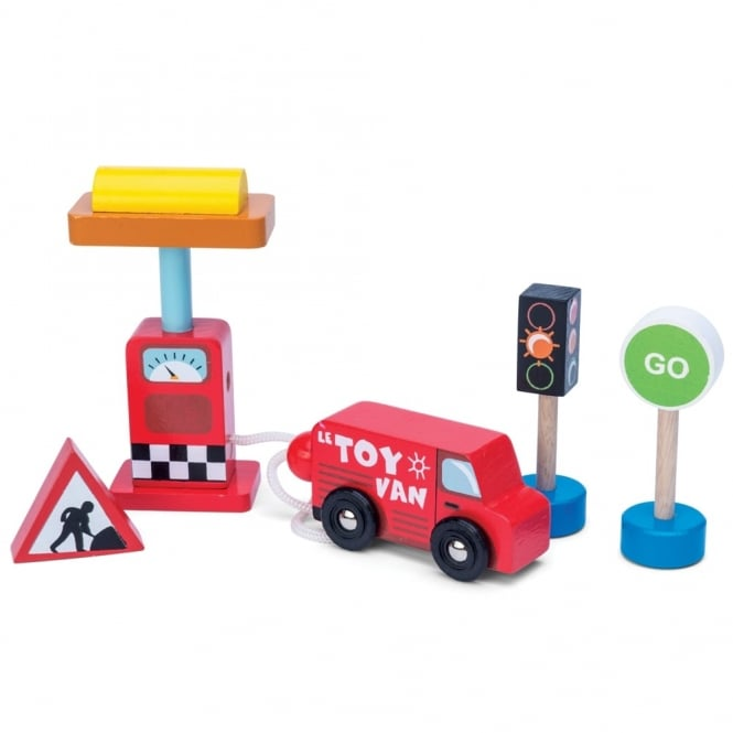 Car and Petrol Pump Set