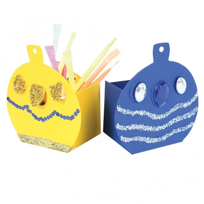 Card Bauble Boxes (Pack Of 30)