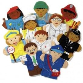 Careers Hand Puppets