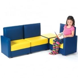 Childrenu0027s Corner Sofa Set