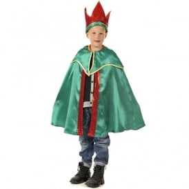 Children's Green King Outfit