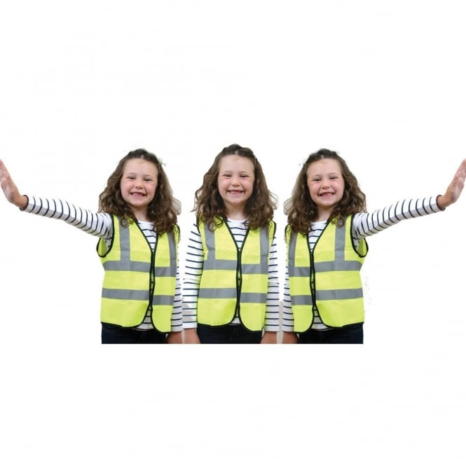 Children's High Visibility Vests Bulk Saver