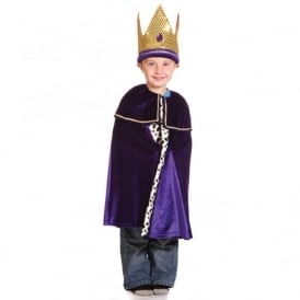 Children's Purple King Outfit
