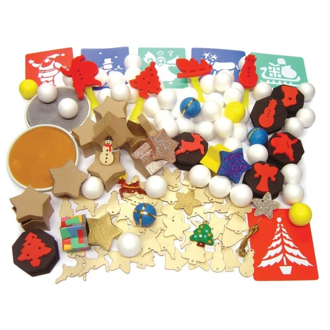 Christmas Craft Pack Art Craft From Early Years Resources Uk
