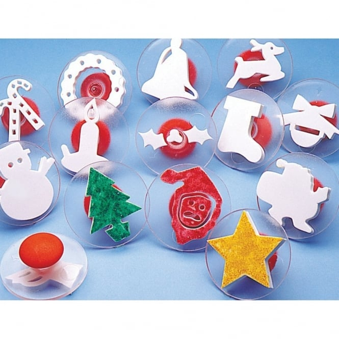 Christmas Stampers Pack of 14