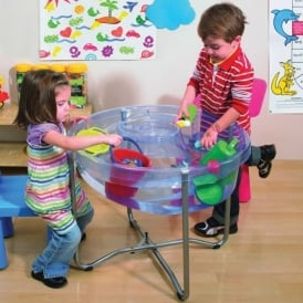 Clear Sand & Water Table With Lid