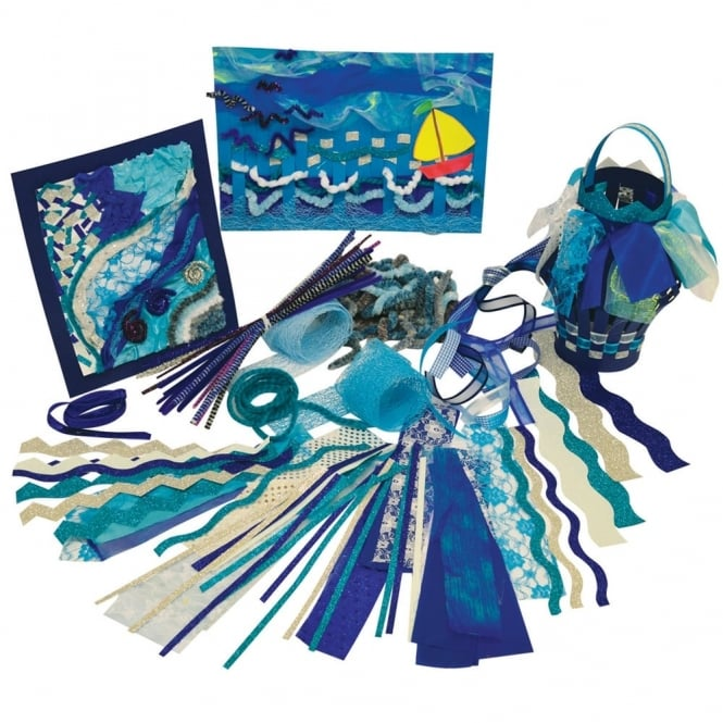 Collage and Display Pack Sea and Sky