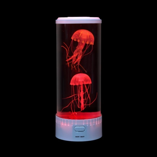 Colour Changing Jelly Fish Round Tank