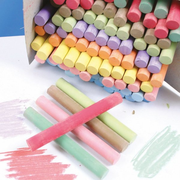 Coloured Chalk Bulk Saver Art Amp Craft From Early Years