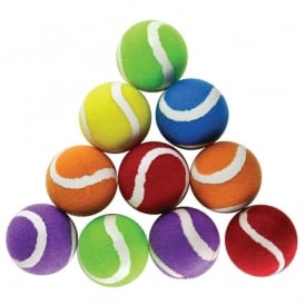 Colourful Tennis Ball - Pack of 10