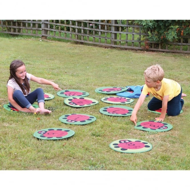 Counting Ladybirds Outdoor Play Mats